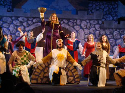 Annapolis Summer garden embraces the bright side of 'Spamalot'