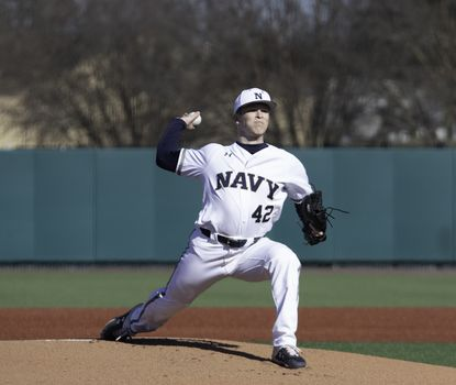 Navy freshman Reece, a Gerstell Academy graduate, had a strong debut before the season was canceled due to the coronavirus pandemic.