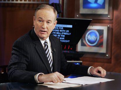 Fox TV host Bill O'Reilly.