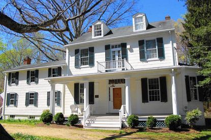 Harwood estate has maintained its 1850s charm