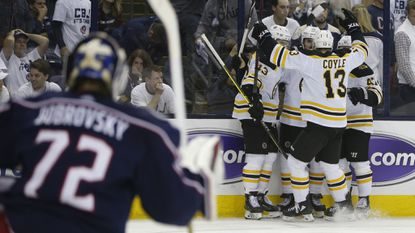 NHL playoffs: Bruins defeat Blue Jackets to advance to Eastern Conference final