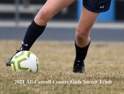 2021 All-Carroll County Girls Soccer Team