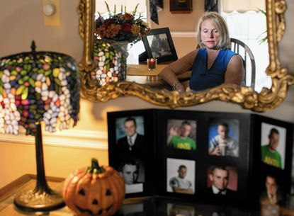 Drema Bonavitacola, of Elkridge, lost her son, Joey, to an overdose several years ago. The county continues to combat the growing opioid epidemic in the state.