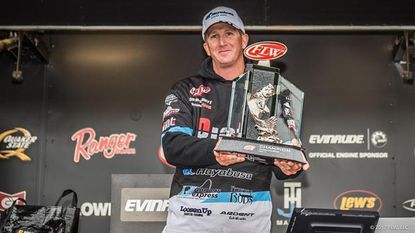 <h5>Bryan Schmitt of Deale, Maryland, won the FLW Tour at the Mississippi River on May 21 with a four-day total of 20 bass weighing 61 pounds, 6 ounces.</h5>