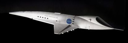 """A scale model of the Orion III spaceplane, from """"2001: A Space Odyssey"""" Model by BP Taylor"""