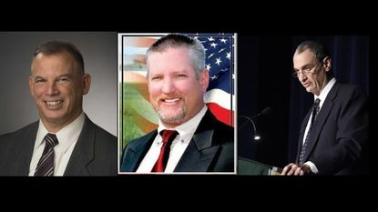 """Ed Rothstein and Christopher """"Eric"""" Bouchat are two new members who will join the county commissioners, an incumbent Dennis Fraizer, whose race was contested, also kept his seat."""