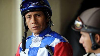 Jockey Edgar Prado flourished in Maryland, winning 24 riding titles at Laurel and Pimlico Race Course between 1991 and 1999 and leading the nation in wins from 1997 to 1999.