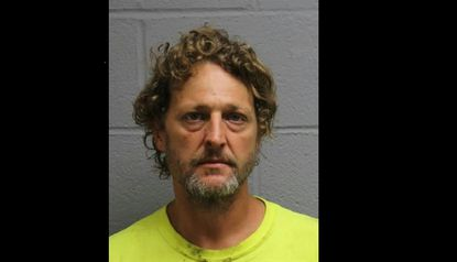 Mount Airy man charged after allegedly stealing from Jiffy Lube, hiding drugs from police