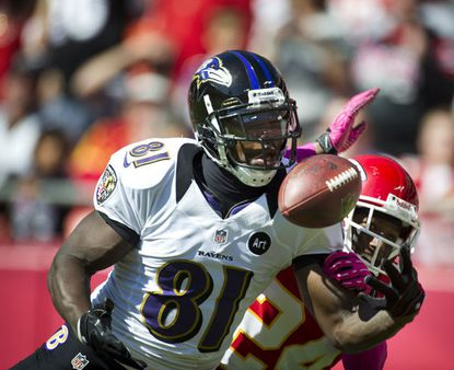 Anquan Boldin with another incpmpletion Sunday against the Kansas City Chiefs