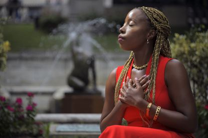 Olachi Tiffany Etoh, who was arrested in Chicago for kidnapping in 2014 and found not guilty by reason of insanity, has found balance among friends and family after returning to Baltimore to focus on herself.