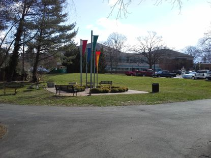 Work should begin the month on the installation of a fountain in the flag court area of Bel Air's Shamrock Park, next to the William A. Humbert Amphitheater.