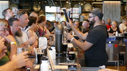 Last Friday, more than 1,000 patrons visited the Guinness Open Gate Brewery & Barrel House in the first hour of the Baltimore County facility's opening.