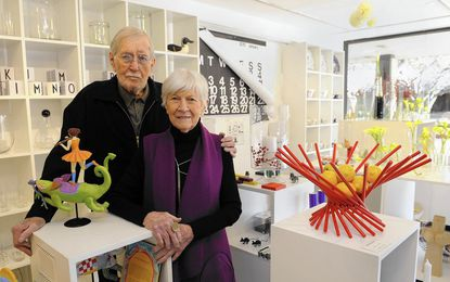 Betty Cooke and William Steinmetz are designers who founded The Store LTD in the Village of Cross Keys.