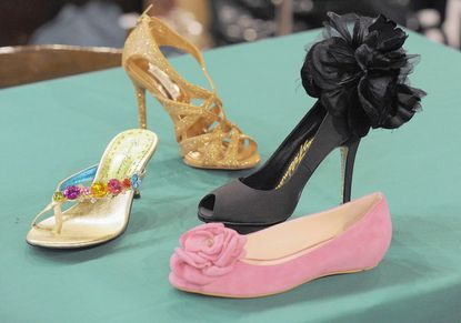 Many shoes, for women and men, will be available at the 45th annual Best Dressed Sale and Boutique.