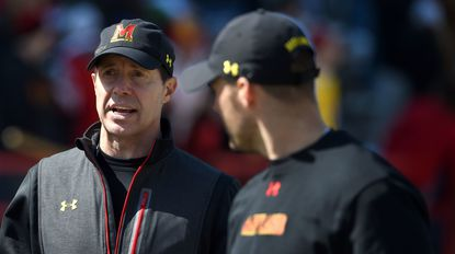 "Coach John Tillman (left) has guided the Maryland men's lacrosse team to seven championship weekends in the last eight years ,and that consistency has elevated the program as ""the gold standard,"" according to ESPN analyst Paul Carcaterra."