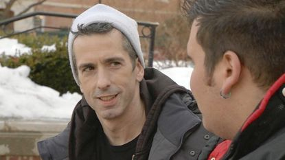 """Columnist Dan Savage in stars in the new MTV documentary series """"Savage U."""" The first episode features questions from University of Maryland students."""
