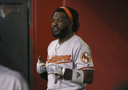 Outfielder Dwight Smith Jr. rejoined the Orioles after a rehab stint at Norfolk.