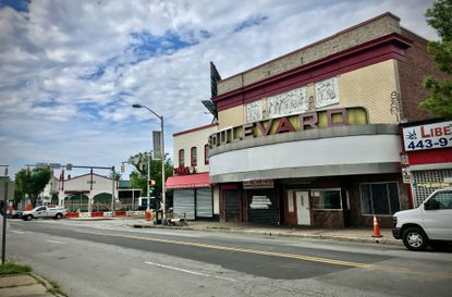 The Boulevard movie theater, on Greenmount Avenue and 33rd St., has been purchased by a neighborhood group, the Central Baltimore Partnership, which is looking to repurpose the building.