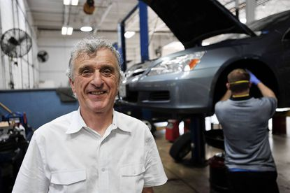 Brian England, owner of British American Auto Care in Columbia, said his health care costs dropped last year because of the medical loss ratio provision in the Affordable Care Act.