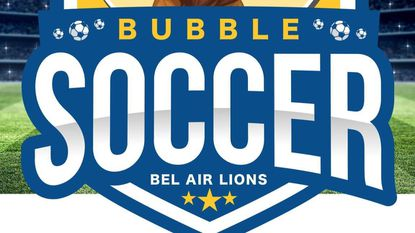 In an effort to recoup some of the money it didn't get during its Christmas tree sales this year, the Bel Air Lions Club is hosting a bubble soccer tournament from 6 to 9 p.m. at the Arena Club Saturday.