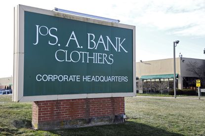Jos A. Bank Clothiers headquarters in Hampstead, Md., pictured in 2014.