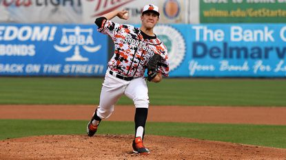 Grayson Rodriguez, the Orioles' top pick in the 2018 MLB draft, is dominating at Low-A Delmarva and is one of the best teenage pitchers in the minors.