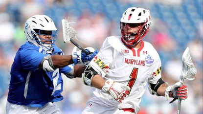 Senior midfielder Connor Kelly is one of several key players who graduated after the Maryland men's lacrosse team lost to Duke, 13-8, in the national semifinals May 26.