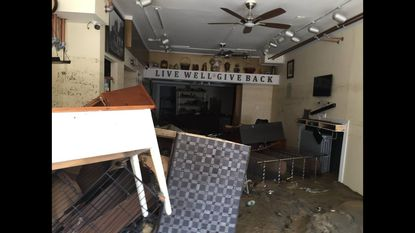 In the aftermath of the flood, Ellicott City is down but not out