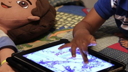 Kids are spending too much time on tablets, smart phones and other technology.