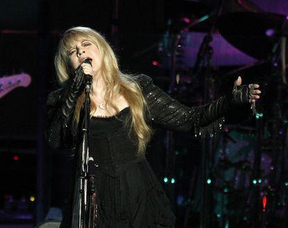 Singer Stevie Nicks of Fleetwood Mac performs at the Honda Center on May 23, 2009 in Anaheim, Calif.