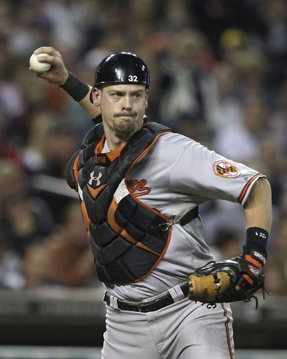 The Orioles announced on Saturday that they have renewed the contract of star catcher Matt Wieters and signed 17 other players who are under club reserve.