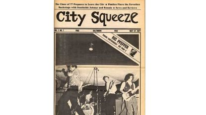 City Paper started 1977 as City Squeeze.