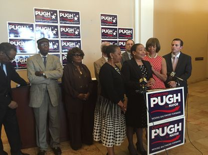 12 lawmakers endorse Catherine Pugh for mayor