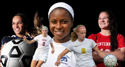 The Howard County All-Decade girls soccer team, featuring players who played between 2010 and 2019.