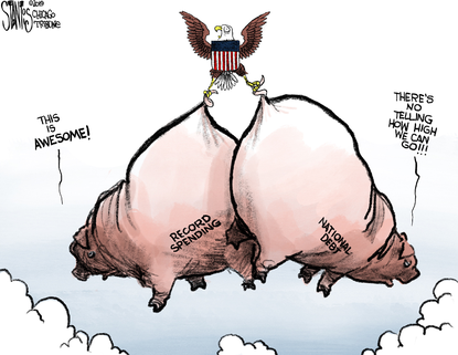 Deficit reaches new heights.