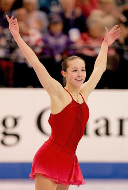 Bel Air resident Kimmie Meissner competes during the short program. She finished 12.65 points out of first place.