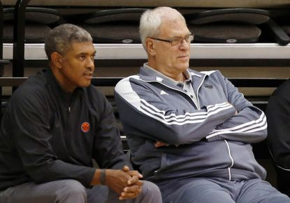Phil Jackson encounters Laker-like problems in trying to rebuild Knicks