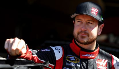 Kurt Busch won the pole position Friday for the NASCAR Sprint Cup Series race at Auto Club Speedway in Fontana.