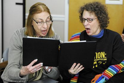 Chorale for seniors 55 and older offers music, health benefits