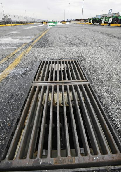 Environmentalists have gone to court to challenge as lax storm-water pollution permits issued by the state to Baltimore city and three counties.