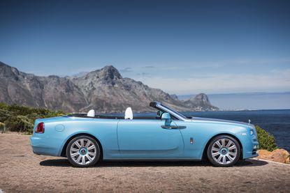 The Rolls-Royce Dawn. (James Lipman/Rolls-Royce)