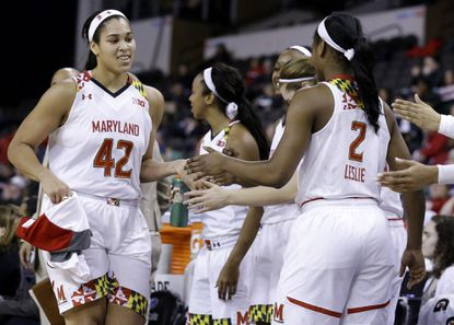 Brionna Jones and the Terps open NCAA tournament play Saturday afternoon at home against New Mexico State.