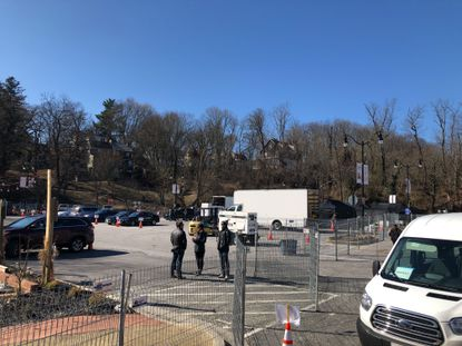 A special event in Ellicott City will cause road closures, traffic disruptions and limited parking on Main Street from Feb. 21 through 28. Lot D off Old Columbia Pike will be partially closed during this time.