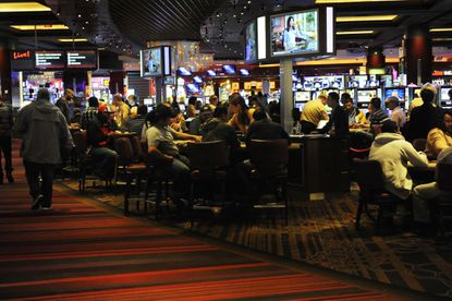 Revenue from slot machines and table games totaled $50.3 million for Maryland Live in October.