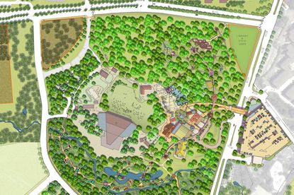 The Columbia Association unveiled new plans for the Symphony Woods Park on Friday.