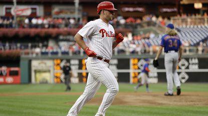 Rhys Hoskins HR sparks Phillies over Mets before key Atlanta trip