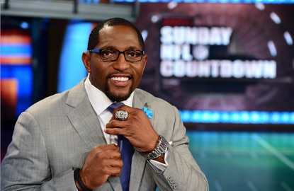 Ray Lewis starts his new life as an NFL analyst on ESPN