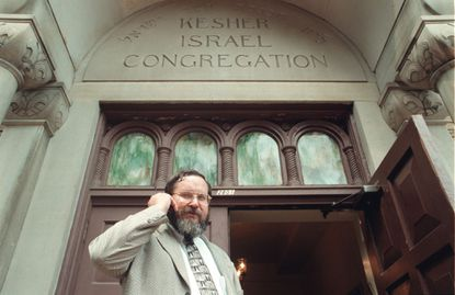 Rabbi Barry Freundel is seen at Kesher Israel Congregation in Washington in this 2000 photo. He has been suspended with pay from Towson University, where he is an associate professor, after being charged with voyeurism in D.C.