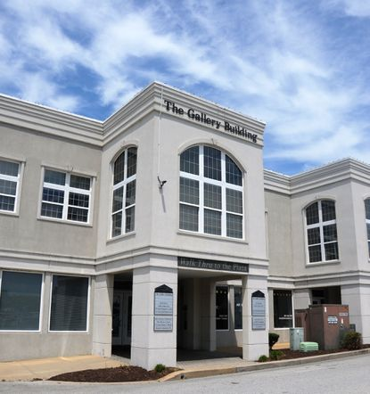 Developers Palmer Gillis and Tony Gilkerson are donating the $4.4 million Plaza Gallery Building and Annex on West Main Street in Salisbury to the Salisbury University Foundation Inc.