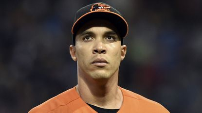 Orioles right-handed pitcher Ubaldo Jimenez.